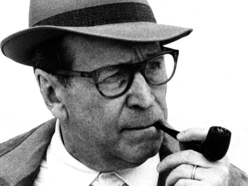 Georges Simenon - Photo Victor Diniz © ™ Simenon.tm, all rights reserved