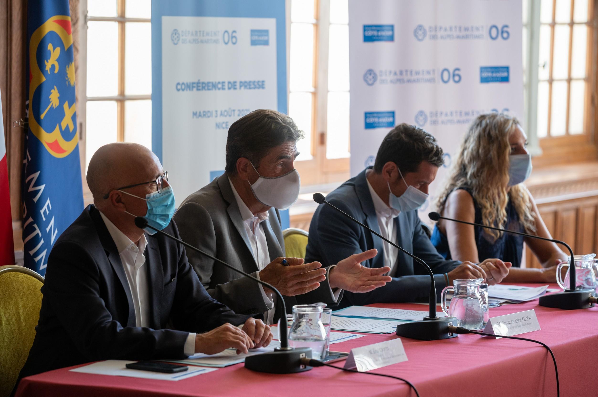 Le Département des Alpes-Maritimes volera au secours du CRT Côte d'Azur /photo dr