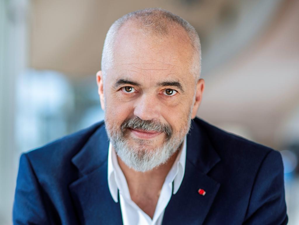 Edi Rama, Premier ministre albanais (DR-Blerta Kambo)