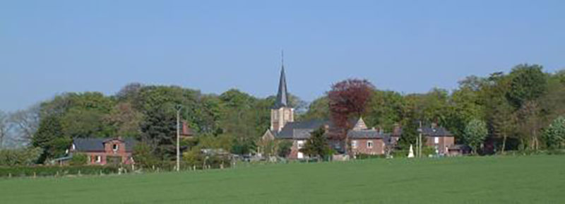 Le village fleuri de Autretot © Radio Solaris