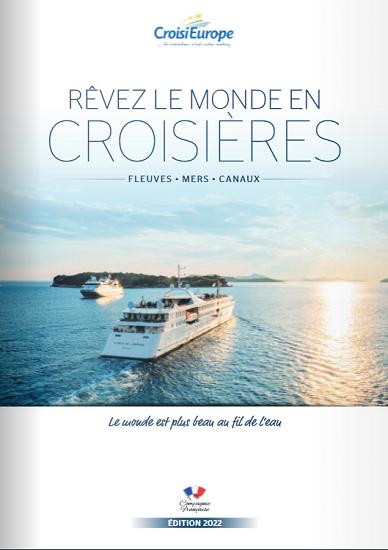 Brochure 2022 de CroisiEurope - DR