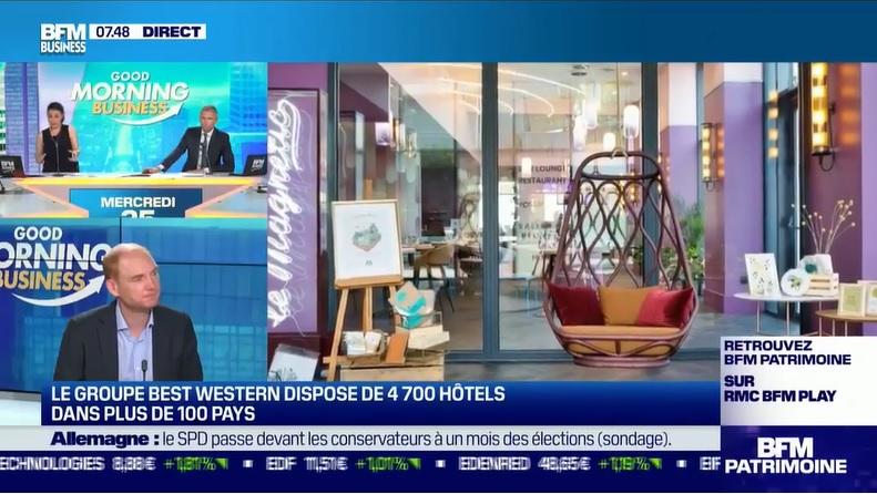 """Olivier Cohn, directeur général de Best Western Hotels & Resorts : """"l'été a été plutôt bon"""" - DR"""