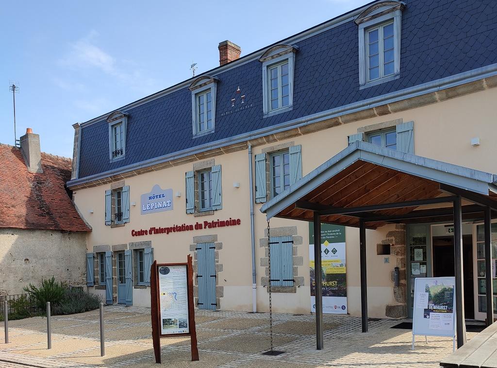 Aujourd'hui centre d'interprétation du patrimoine, l'hôtel Lépinat recevait les peintres dans une ambiance libertaire, festive, sans distinction entre riches et pauvres, anciens et modernes - DR : Lépinat (Tiphaine)