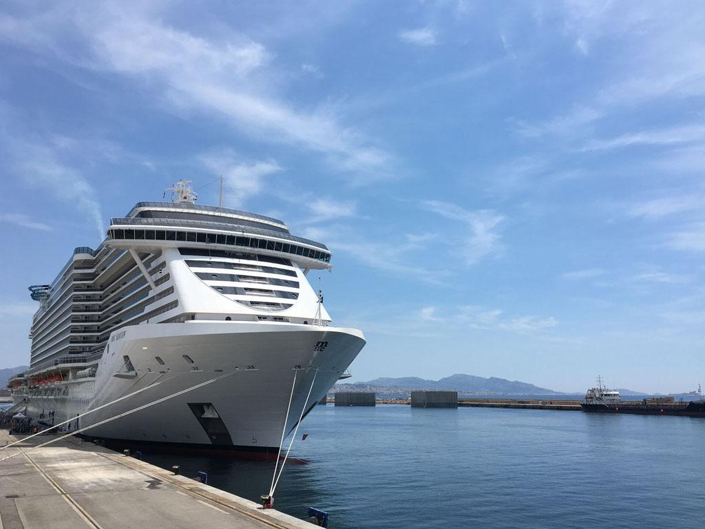 Au total 70 000 passagers sont montés à bord des navires Costa ou MSC qui passaient par Marseille dont 35 000 ont embarqué depuis la Cité Phocéenne - Photo DR