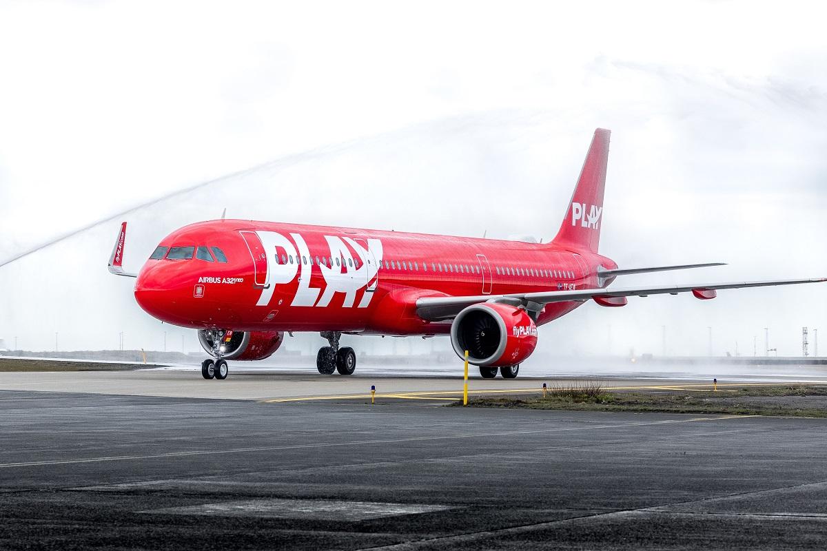 PLAY a fait voyager 17 300 passagers en août 2021, pour son 2e mois d'exploitation - DR