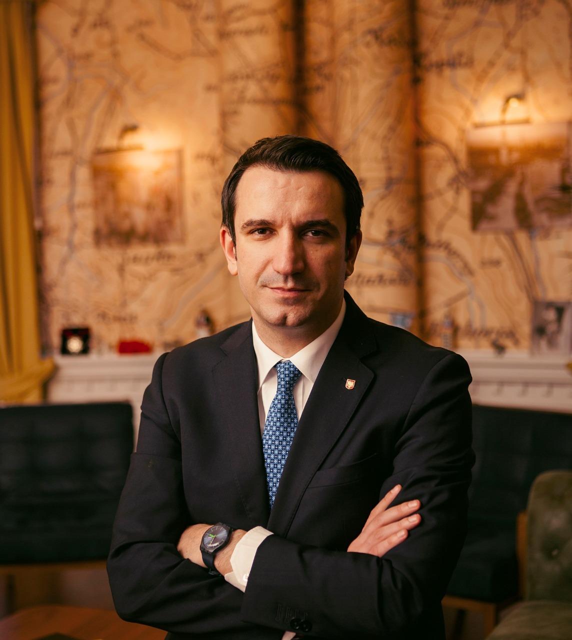 Erion Veliaj, maire de Tirana (DR Vlasov Sulaj)