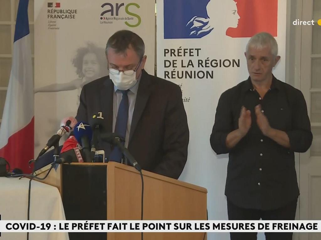 A partir du lundi 6 septembre 2021, le confinement sera levé en semaine - DR : Préfet Réunion