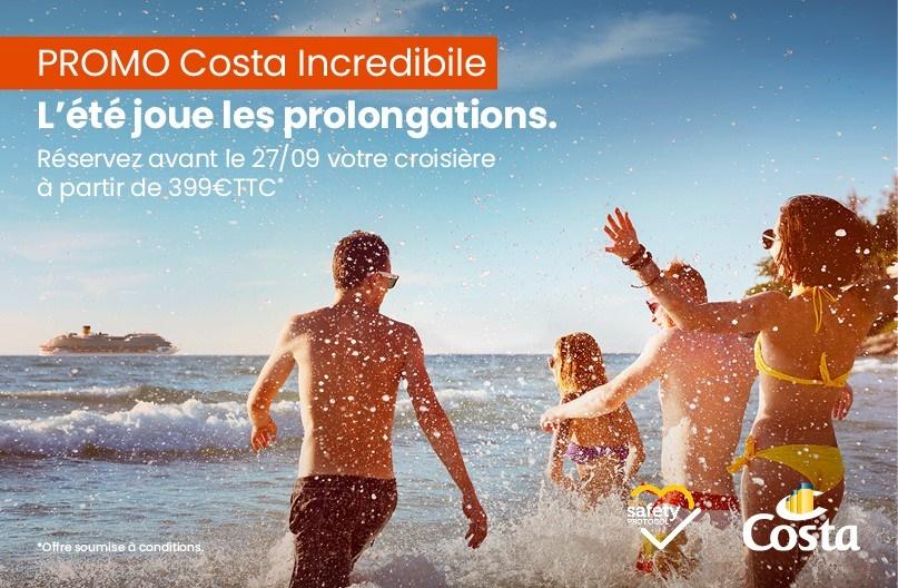 Après un bel été, Costa Croisières se prépare pour la saison automne-hiver