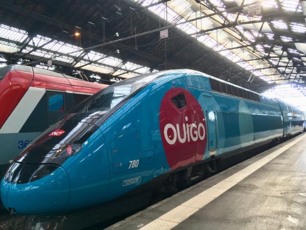 Ouigo : Avec cette offre de rentrée, plus de 40 destinations différentes, dont les principales métropoles françaises, sont proposées à ce tarif pour les adultes et à 5 ou 8€ pour les enfants. - Photo CL
