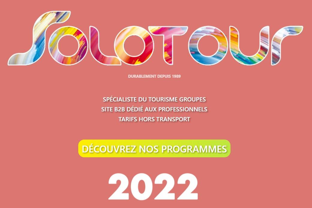 La nouvelle brochure Solotour 2022 vient de paraître - DR