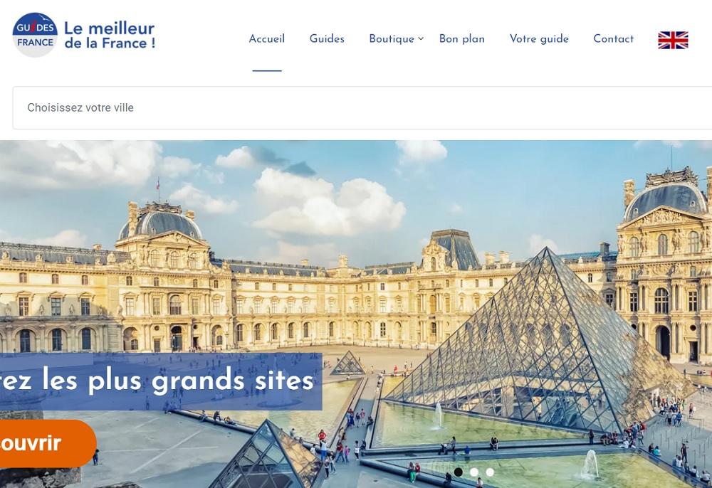 Les guides-conférenciers d'Alsace et de Provence ont créé guides-france.com - Capture écran Guides-france.com
