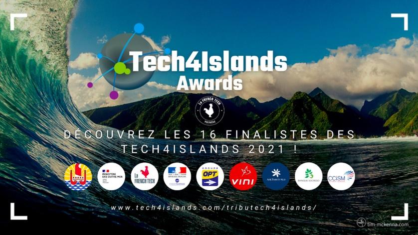 Les 4 Lauréats du concours Tech4Islands Awards seront sélectionnés le 20 septembre - DR :Tech4Islands