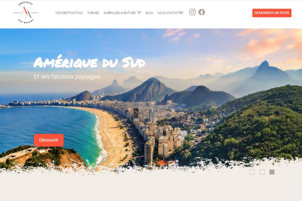 Voyages Couture vient de lancer sa nouvelle marque et son nouveau site web Amériques Aventure - DR