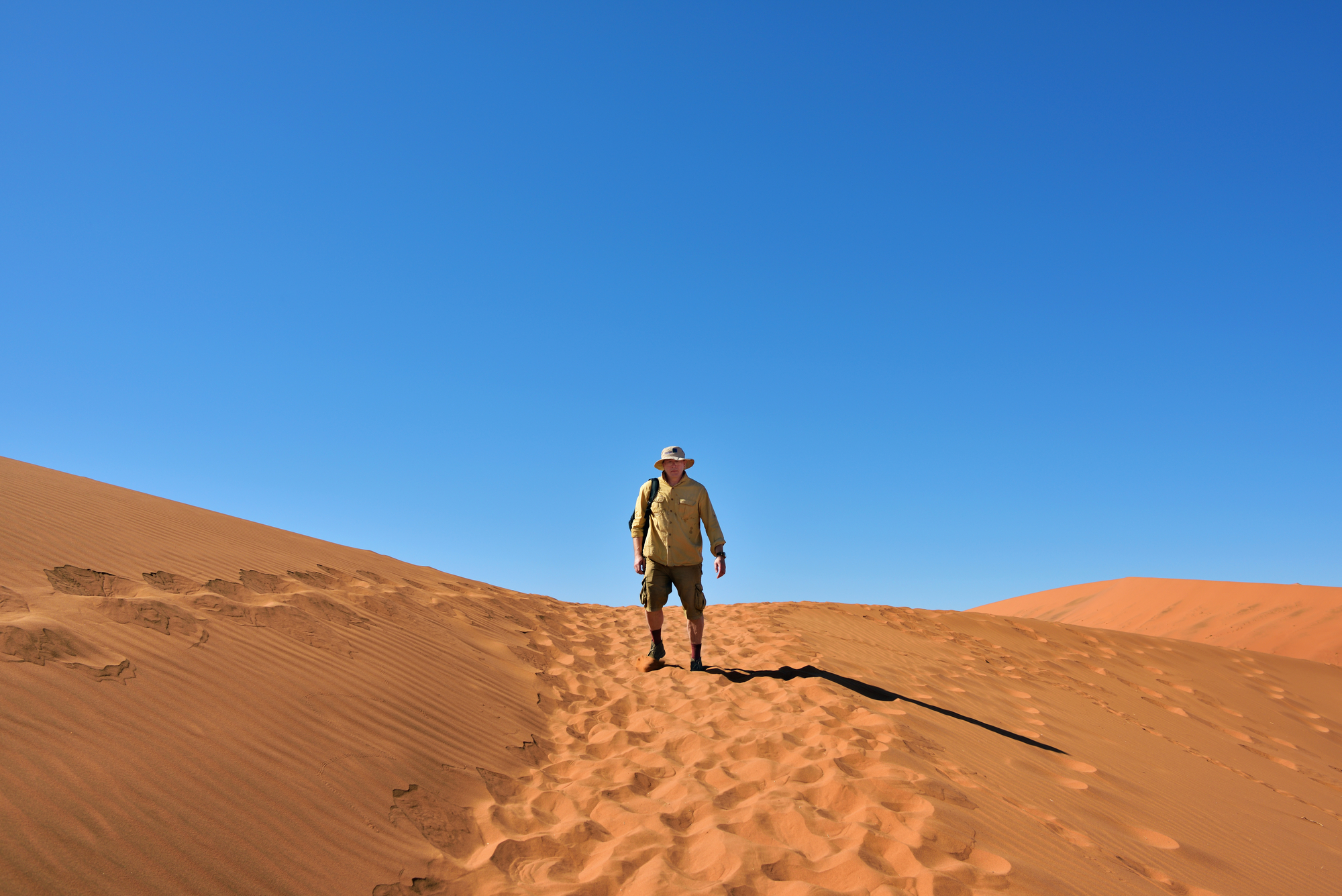 """La """"tas de sable"""" va-t-il devenir une dune infranchissable ? /crédit DepositPhoto"""