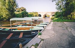 Les barques électriques des marais du Cotentin et du Bessin © Attitude Manche