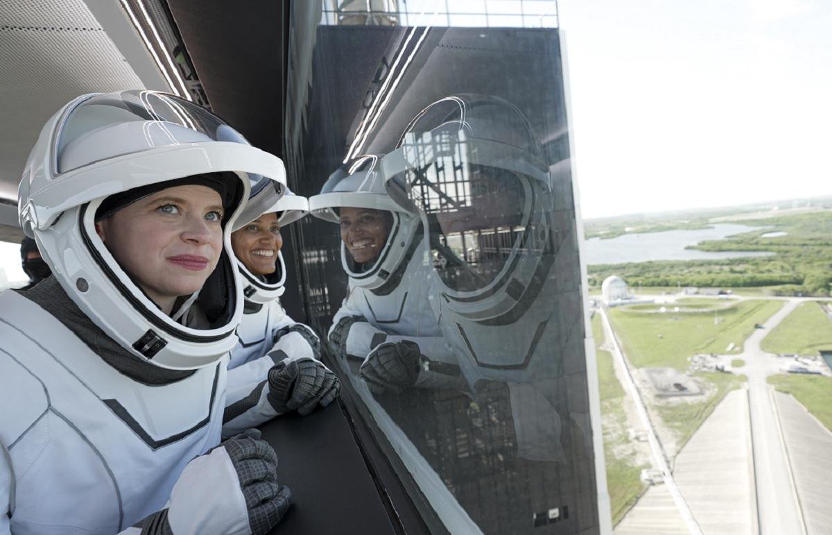 SpaceX : les passagers au nombre de quatre ne sont pas des cosmonautes professionnels - Photo SpaceX twitter