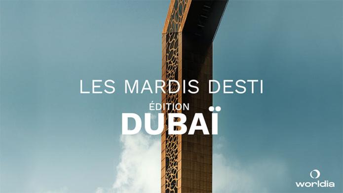 """Le prochain """"Mardis Desti"""" aura lieu le 21 septembre à 11h - DR : Worldia"""