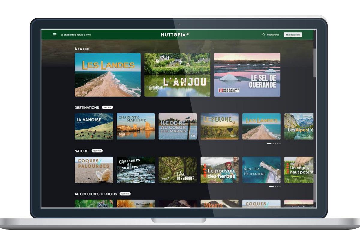 Pour créer sa chaîne dédiée à la nature, Huttopia s'est associé à la startup de l'audiovisuel et du streaming France Play. - DR