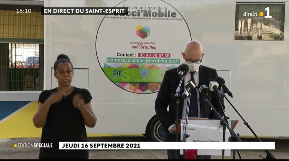Le préfet en Martinique a annoncé un allègement du confinement et une réouverture des commerces, restaurants et salles de sport - DR Capture écran