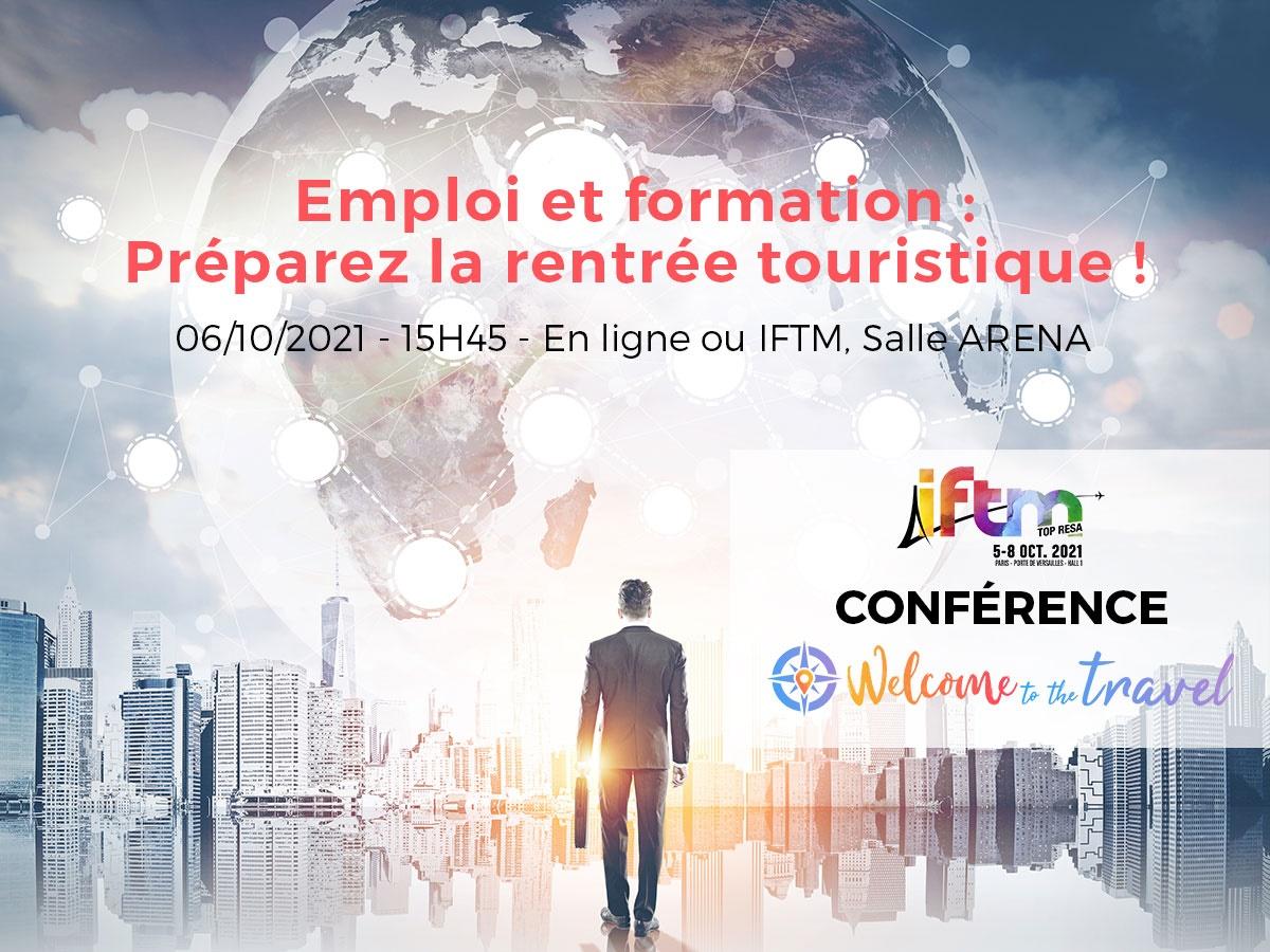 """Conférence """"Emploi et formation"""" organisée par TourMaG.com et Welcome to The Travel à l'IFTM TOP Resa - DR"""