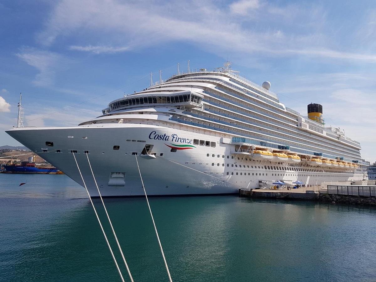 Le Costa Firenze, dernier paquebot de la flotte Costa, embarque les passagers tous les samedis depuis Marseille pour des itinéraires de 7 jours en Méditerranée - DR : A.B.