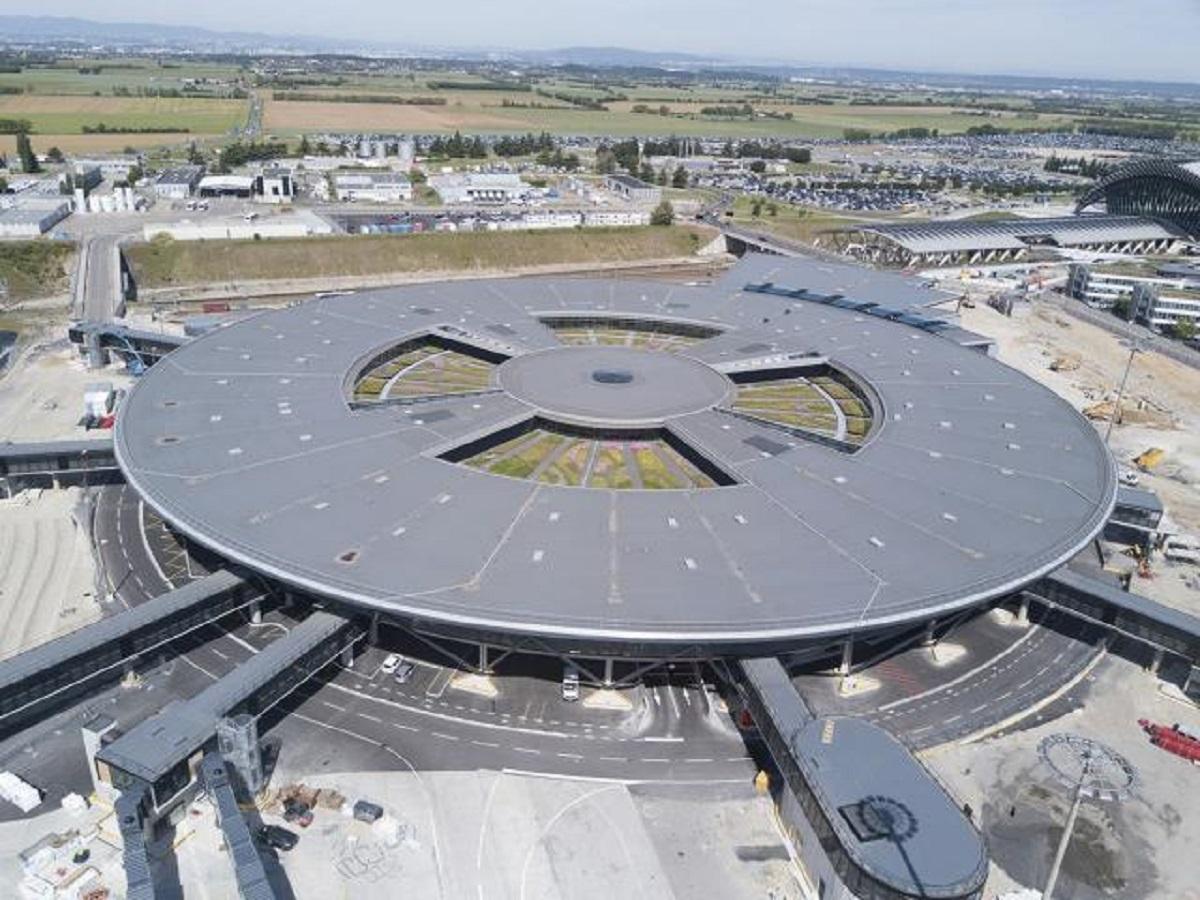 A partir de 2023 sera déployée une station de distribution d'hydrogène gazeux à l'aéroport Lyon-Saint Exupéry - DR : Vinci