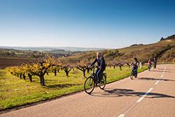 Cyclotourisme en Bourgogne La France à vélo © my destrination / BFC Tourisme
