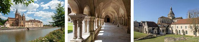 Paray-Le-Monial / Abbaye de Fontenay / Prieuré La Charité Sur Loire © Alain Doire - BFC Tourisme