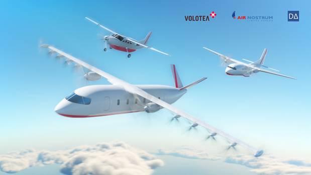 Volotea dévoile les images de son futur avion 100 % électrique - DR