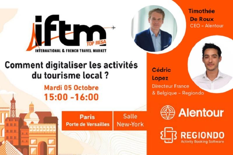 """IFTM : un workshop sur """"Comment digitaliser les activités du tourisme local ?"""""""
