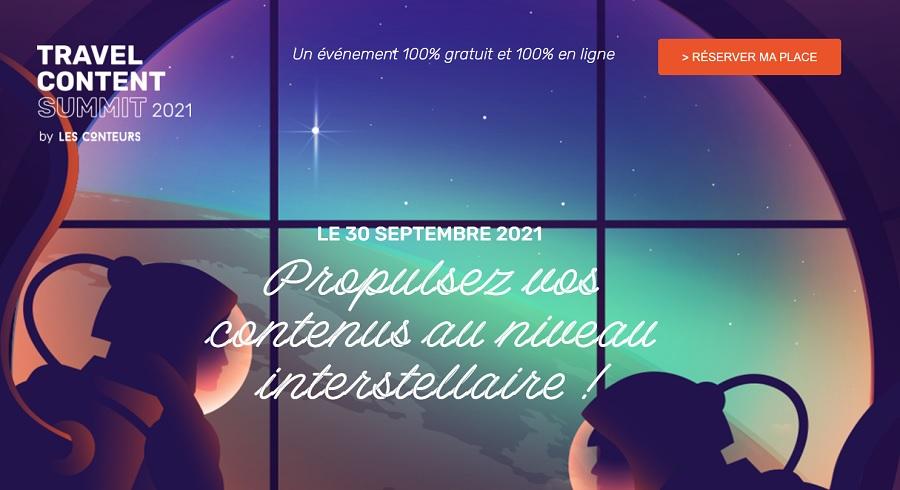 Travel Content Summit se tiendra le 30 septembre 2021 - DR