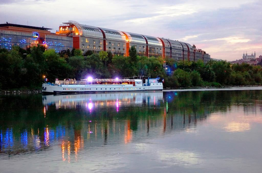 La cité internationale de Lyon, haut lieu du tourisme d'affaires rhône-alpin ©Auvergne-Rhône-Alpes Tourisme