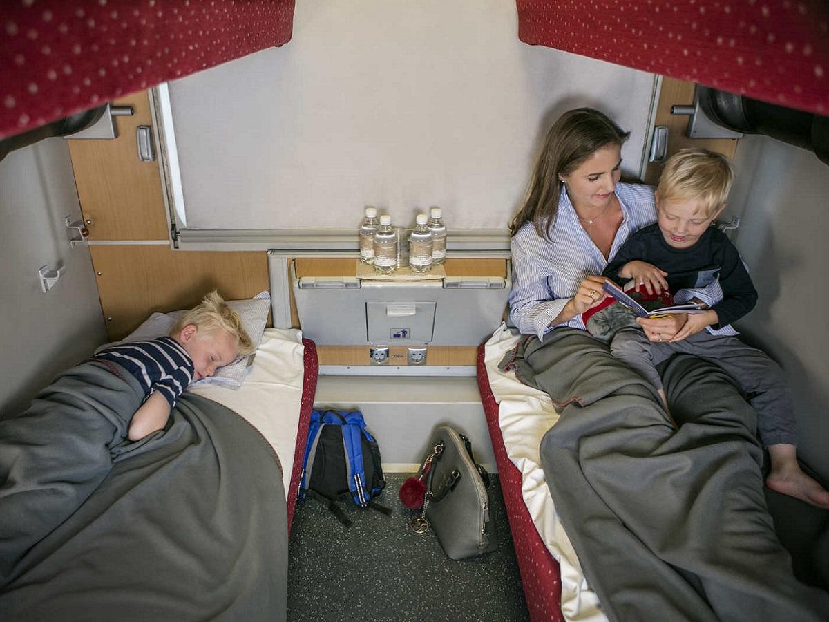 Les réservations du train de nuit (Nightjet) entre Paris et Vienne (Autriche) sont ouvertes - nightjet