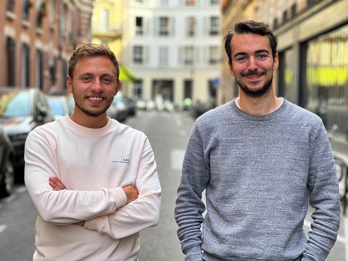 Axel Guidicelli et Lancelot Hardel, les deux fondateurs d'Ulysse Travel ont des hautes ambitions pour la start-up qui doit devenir un leader mondial - Crédit photo : Ulysse