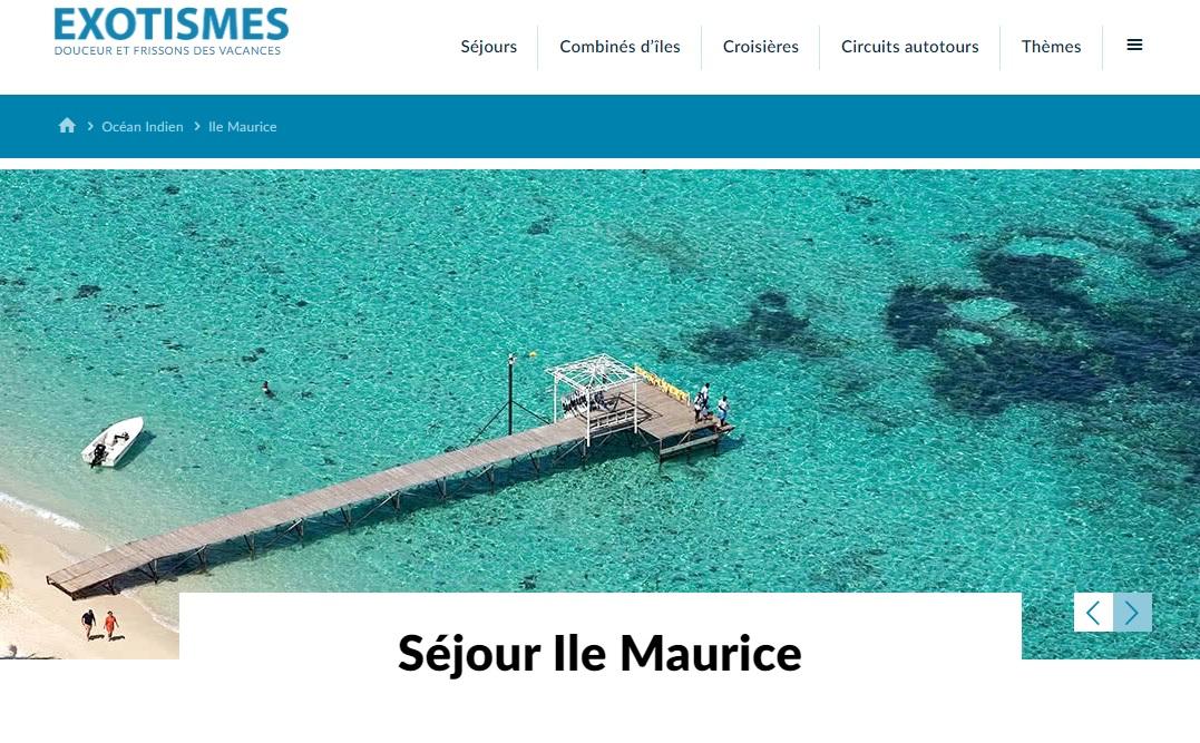 Exotismes a accueilli ses premiers depuis 18 mois à l'Ile Maurice comme il se doit ! - Photo DR