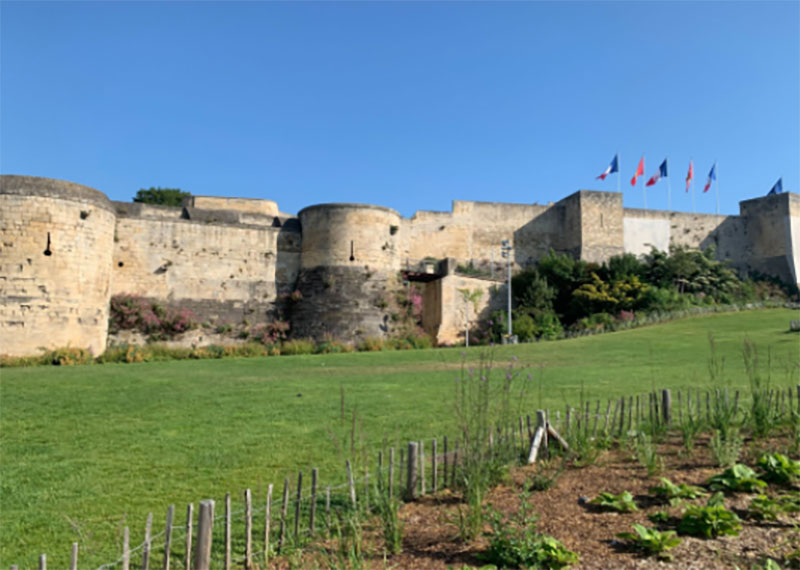 Le château de Caen @ Oïhana MARIE
