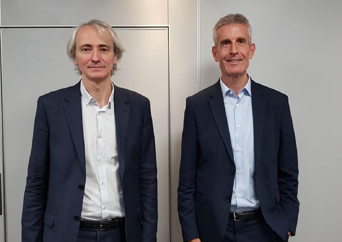 """Jérôme Laffon et Alain Krakovitch lors de la traditionnelle conférence de presse SNCF à l'IFTM Top Resa : """"Nous sommes sur une montée en charge sur le voyage d'affaires"""" Photo CE"""