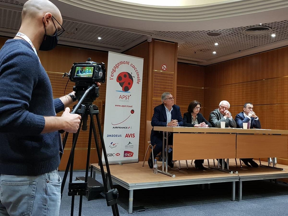 L'APST a tenu une réunion pour faire un point global lors de l'IFTM Top Resa notamment sur les dossiers Thomas Cook, Pierre&Vacances et autres... - DR : RP