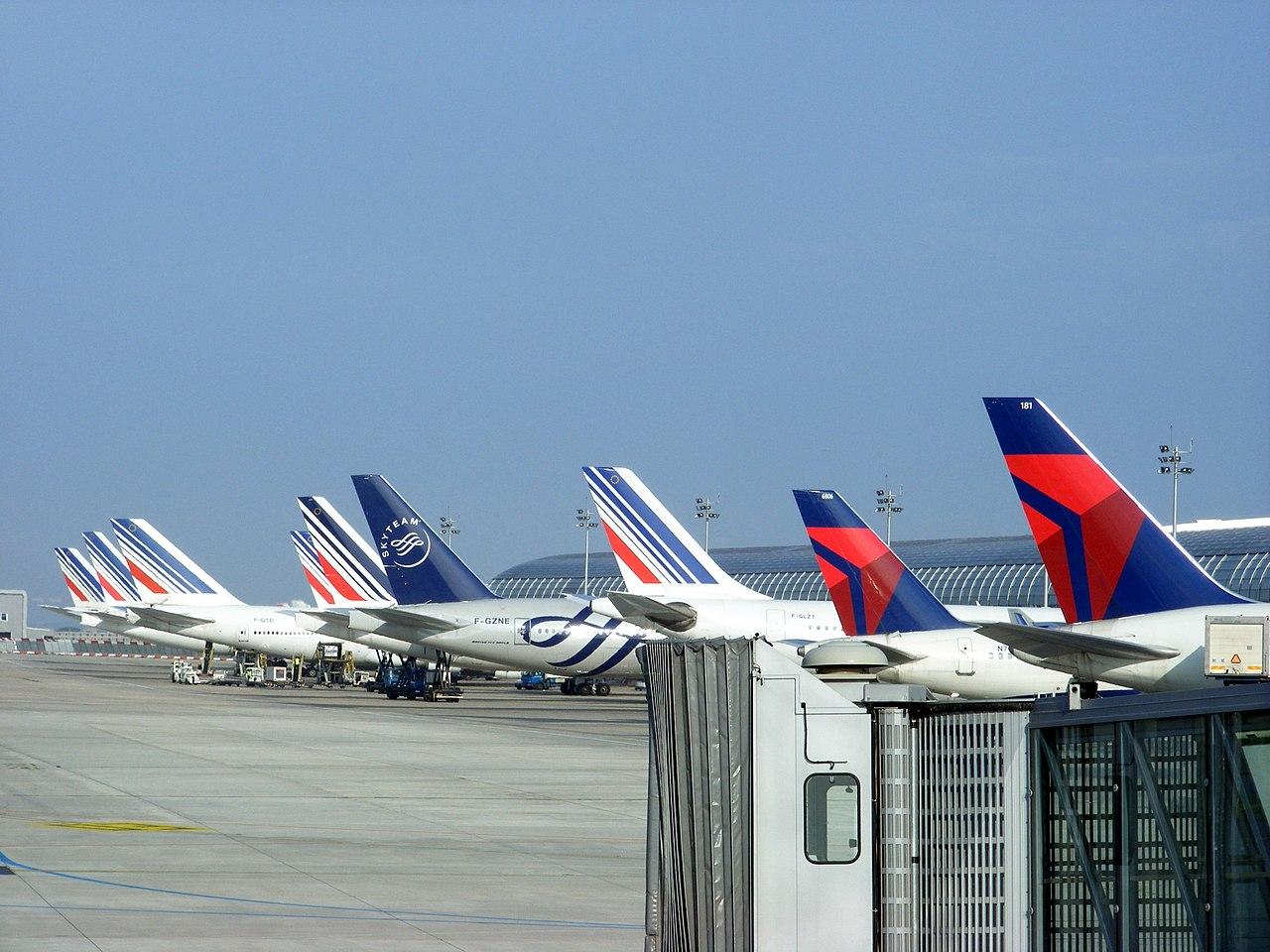 Air France-KLM et Delta volent côte à côte au sein de l'alliance Skyteam© Mathieu Marquer / Wikipedia
