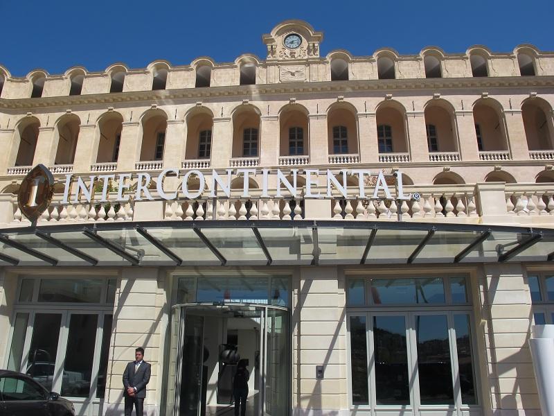 l'InterContinental Marseille-Hôtel Dieu a officiellement ouvert ses portes le 3 mai 2013 - Photo P.C.