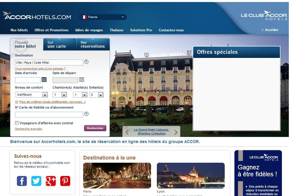 Accorhotels.com détrône Voyage SNCF et mise sur le search marketing