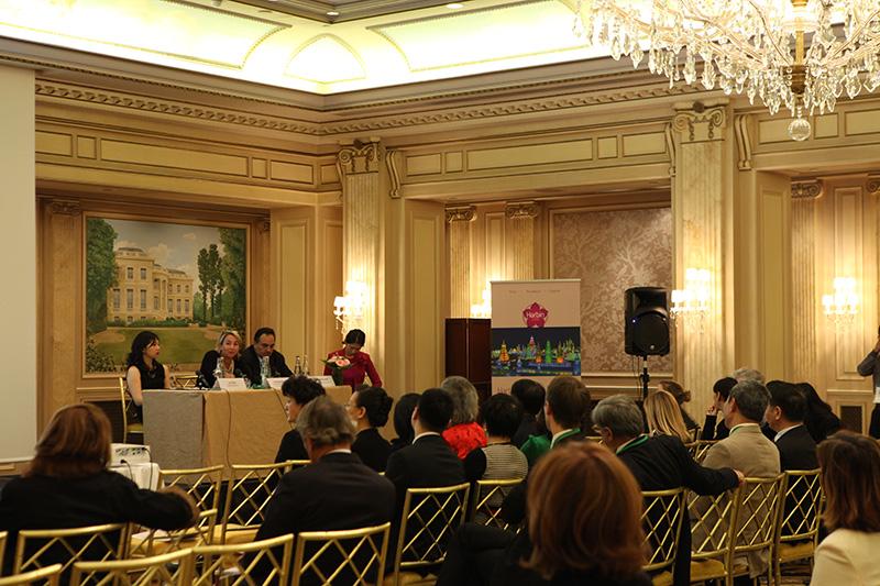 La délégation harbinoise a rencontré des TO spécialistes de la Chine pour les convaincre d'intégrer Harbin dans leurs brochures et leurs circuits - DR