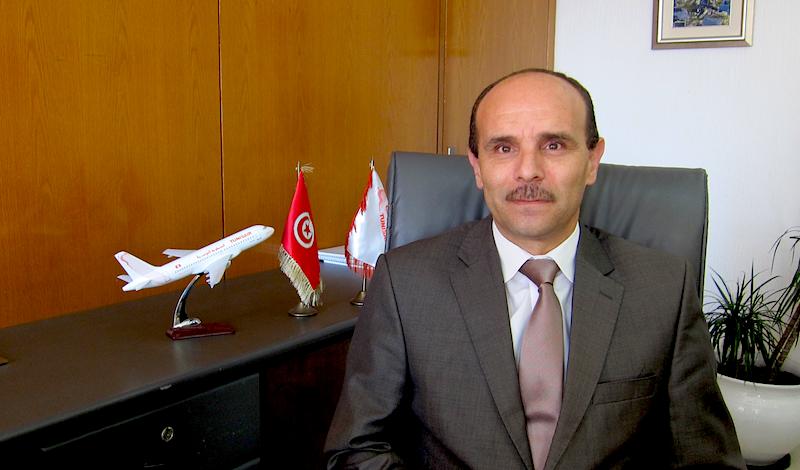 Khaled Chelly, directeur général adjoint commercial de Tunisair - DR : LAC