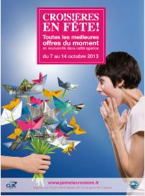 Croisières en Fête ! : 8,1 M€ de chiffre d'affaires généré en 2013