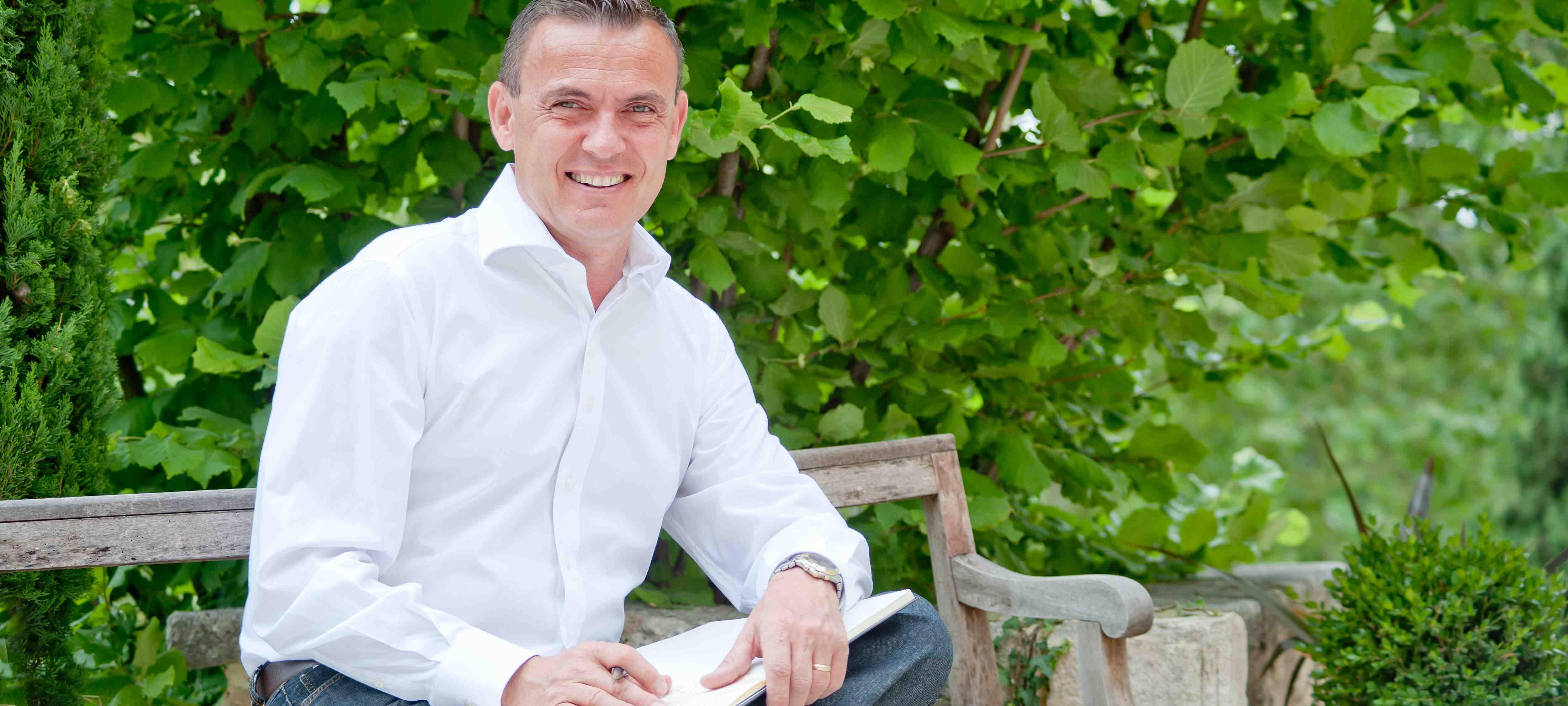 Fabien Piacentino a pris en février 2013 la  direction générale du Couvent des Minimes Hotel & Spa l'Occitane. ©DR/couvent des minimes.