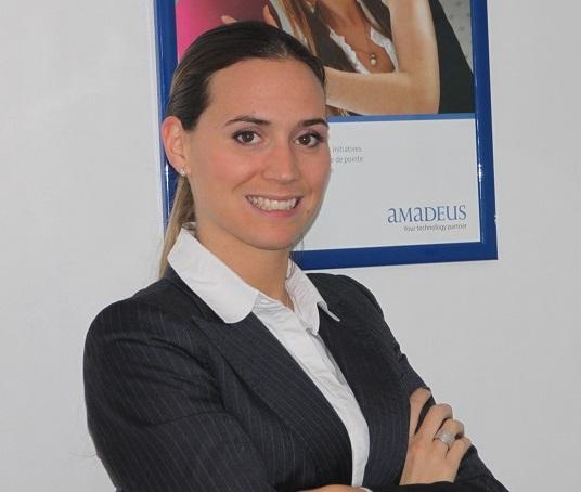 Aude Saint-Jullian, product line manager rail chez Amadeus