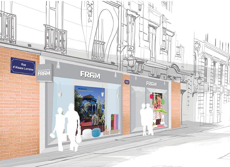 FRAM ouvre un nouveau concept d'agence à Toulouse