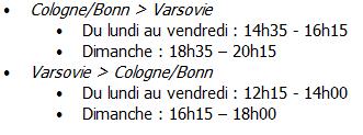 Germanwings : vols Cologne-Varsovie dès le 30 mars 2014