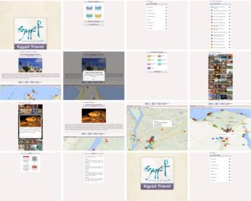 """L'application """"Egypt Travel"""" est disponible gratuitement sur Apple Store - Capture d'écran"""