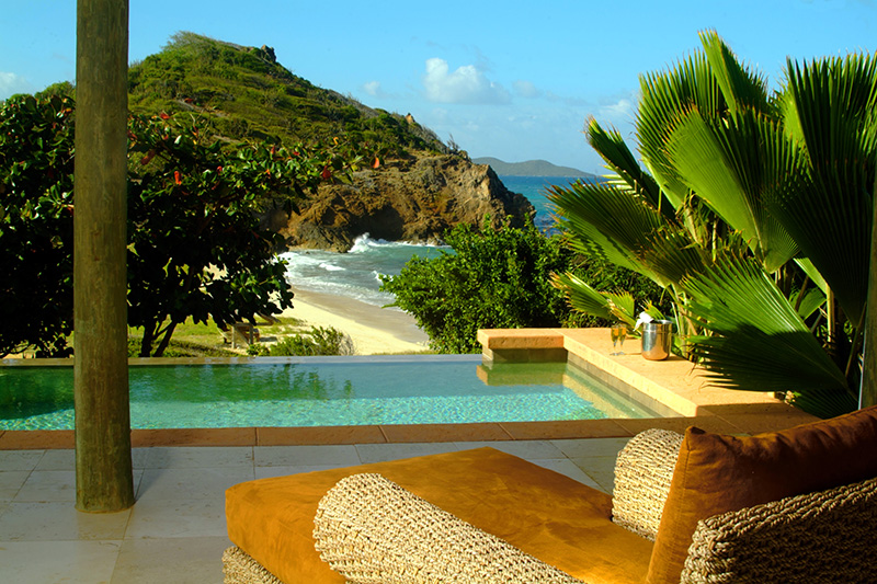 Vue de la chambre Palm Island Resort - DR : Palm Island Resort